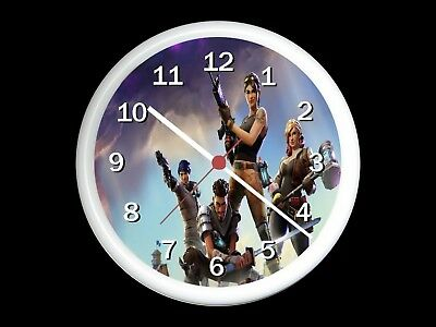 Fortnite Wall Clock Can be Personalised