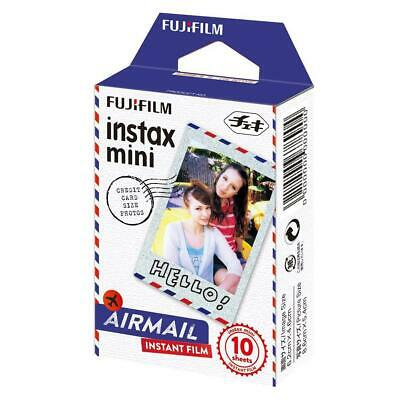 Fujifilm Airmail Film for instax mini Cameras, 10 Pack #16432657