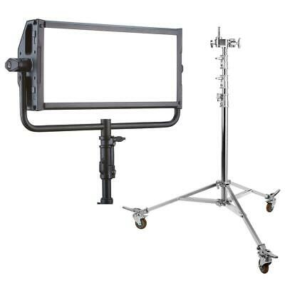 Litepanels Gemini 2x1 Bi-Color LED Soft Panel With Flashpoint 10' C Stand