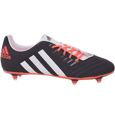 adidas Performance Mens Incurza TRX SG Sports Training Rugby Boots - Black/White