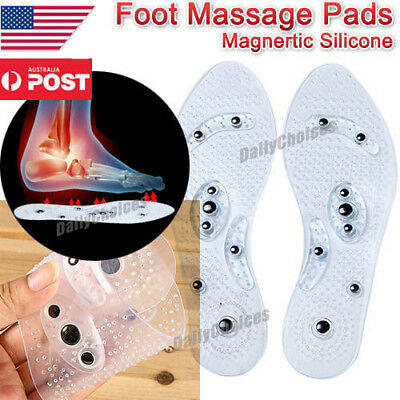 MindInSole Acupressure Magnetic Massage Foot Therapy Reflexology Pain Relief USA