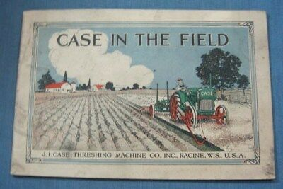 Case In The Field Tractor Catalog 1910 1920 Color Cover