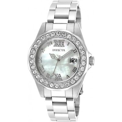 INVICTA Sea Base Lady 38mm Stainless Steel Stainless Steel White dial PC32A Quar