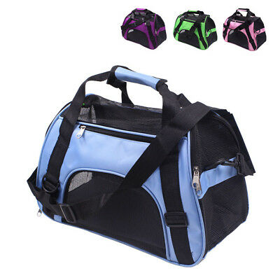 Dog Cat Pet Portable Carrier Bag Backpack Folding Travel Tote Cage Bags