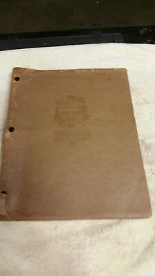 Vintage 1933-1942 Automobile Carbureter Service Manual  from Int. Corr. Schools