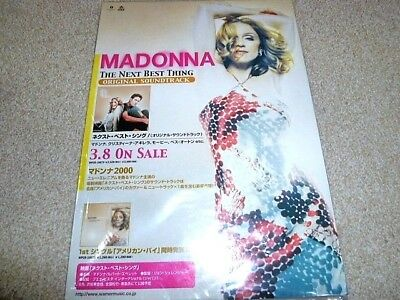 MADONNA The Next Best Thing / American Pie : JAPAN PROMO Counter Display Stand