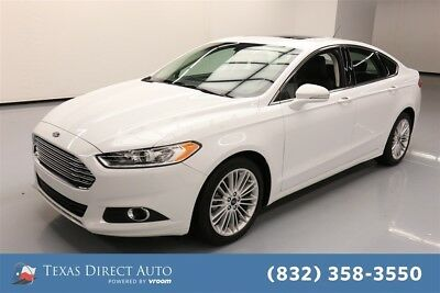 2016 Ford Fusion SE Texas Direct Auto 2016 SE Used Turbo 1.5L I4 16V Automatic FWD Sedan