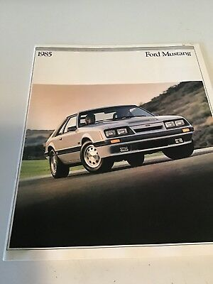 1985 Ford Mustang Brochure