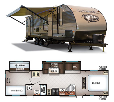 2017 Forest River Cherokee 294BH Camper **Nice**