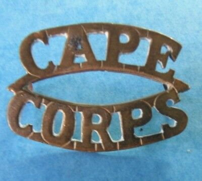 South African Cape Corps badge