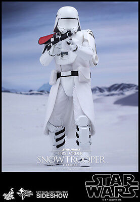 Star Wars The Force Awakens 12 Inch MMS First Order Snowtrooper Officer Hot Toys