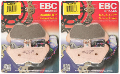 EBC Double-H Sintered Metal Brake Pads FA407HH 2 sets BMW