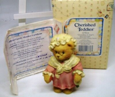 Cherished Teddies - Grandma Is God's Special Gift