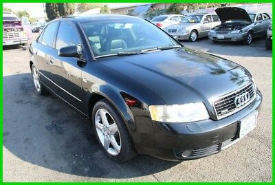 2005 Audi A4 1.8T 2005 Audi A4 Quattro 1.8T Turbo Automatic 4 Cylinder NO RESERVE