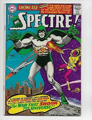 Showcase 60 - G/vg 3.0 - 1St Appearance Of The Silver Age Spectre (1966)