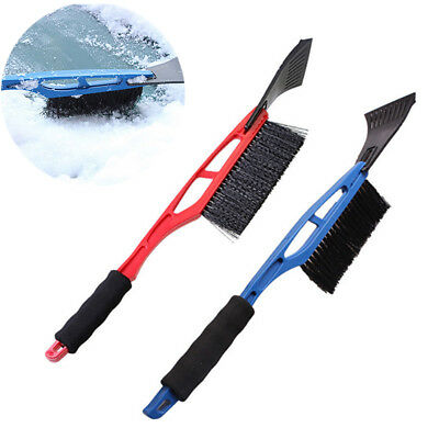 Ice Scraper Windscreen Frost Window Snow Ice Winter Car Van Long Reach Handle