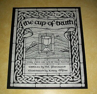 St Dunstan Cup Truth Celtic Myth Legend Book Squire Greenwood Glastonbury Abbey