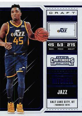 2018-19 Panini Contenders Draft Picks Ticket Blue Foil Cards Pick From List