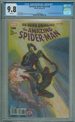 Amazing Spider-man #798 CGC 9.8 1st App Red Goblin Marvel 2018 Free Shipping
