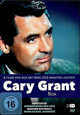 Cary Grant Box   Ingrid Bergman   Alfred Hitchcock   Liebe   Comedy  [FSK16] DVD