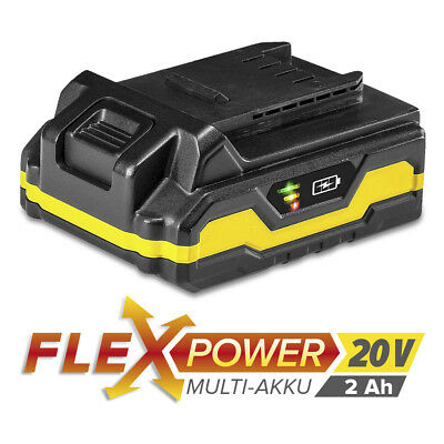 TROTEC Flexpower Multi-Device Battery 20 V 2.0 Ah | Rechargeable Battery | Tools