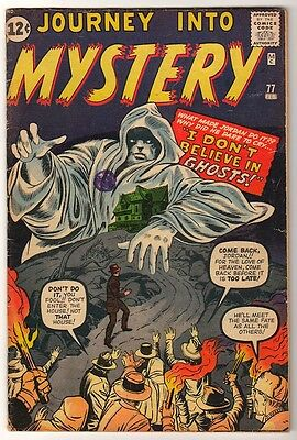 Marvel Comics VG+  PRE THOR #77 Journey into mystery 4.5
