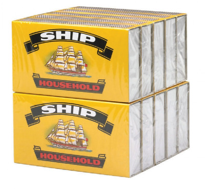 10 x Ship Safety Matches 10 Small Boxes approx 32 Matches per Box