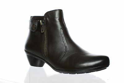 Naturalizer Womens Haley Brown Ankle Boots Size 5.5 (61528)