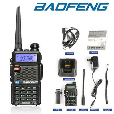 Baofeng UV-F8+(UV-5R Upgrade) UHF VHF Dual Band Two Way Ham Radio Walkie Talkie