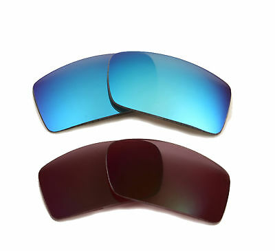 1adc6c9ef7201 Best SEEK Polarized Replacement Lenses for Oakley GASCAN Grey Blue Mirror