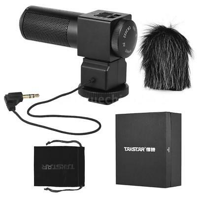 Takstar SGC-698 Photography On-camera Microphone Recording Mic for DSLR Camera