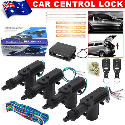 Remote Control Car 4 Door Keyless Entry Central Lock Locking Kit Security System