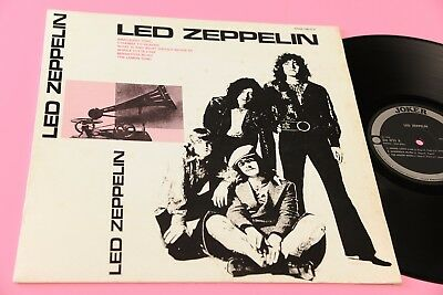 Led Zeppelin Lp Orig Italy 1974 Ex Only Unique Italy Different Cover Tooopp Rare