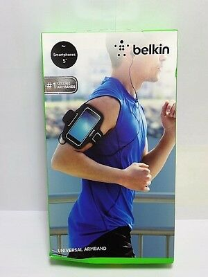 "Belkin Universal Sport-Fit Armband for 5"" Devices - Black"