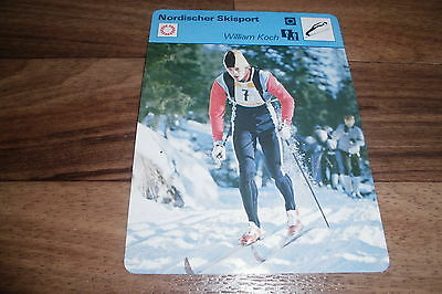 WILLIAM KOCH / Nordischer Skisport -- Editions Rencontre S.A. Lausanne 1977