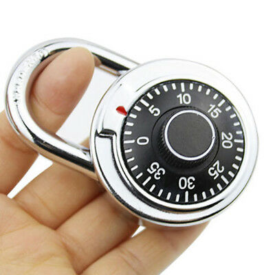 Coded Lock 50mm With Round Fixed Dial Combination Padlock Defender B