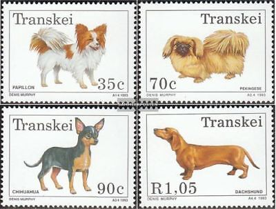 Unmounted Mint Transkei Block10 Never Hinged 1993 Dogs complete.issue.