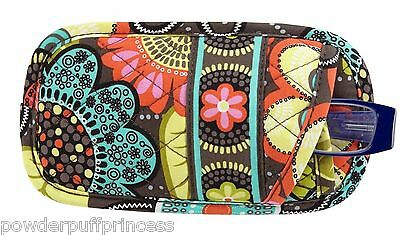 2dd4242376 Vera Bradley Flower Shower Double Eye Eyeglass Case NWT  22 Holds 2 Pairs  Light