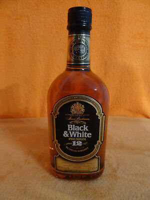 Tollen James Buchanan Black & White Premium 12 Jahre alten Scotch Whisky H13