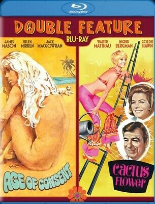 Age Of Consent/Cactus Flower: Double Feature Used - Very Good Blu-Ray Disc