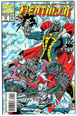 Deathlok #25 - Marvel Comics July 1993 - VF/NM