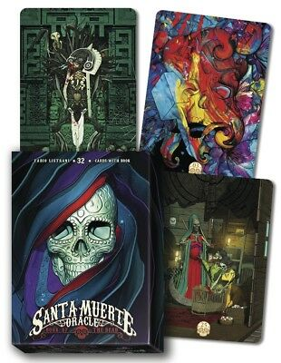 SANTA MUERTE ORACLE Tarot Kit Card Deck Cards Book Boxed Set Day of the Dead