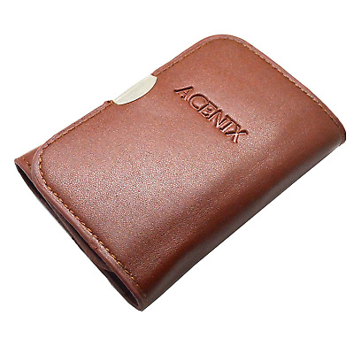ACENIX® New Brown Colour Leather Wallet Precision Screwdriver Set 29 in 1...