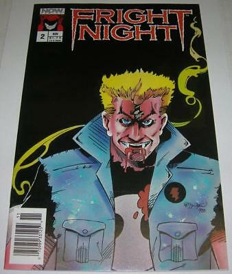 FRIGHT NIGHT #2 (Now Comics 1988) Conclusion of movie adaptation (VF-) RARE