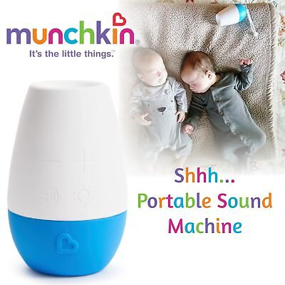 Munchkin Shhh Sleep Machine│Lullaby Three Sounds│Shushing Heartbeat White Noise