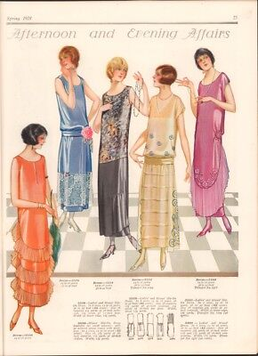 1924 Spring McCall Quarterly Large Format Pattern Publication Pre-FlapperFashion