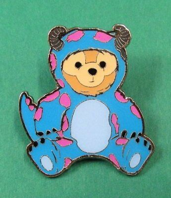 Disney Pin HKDL - Duffy Bear Costume Collection - Duffy as Sulley of Monsters