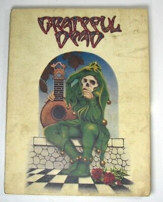 Grateful Dead Songbook Music Vintage 1973 Green Jester Cover