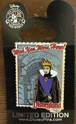Disney DLR Wish You Were Here 2007 Snow White's Scary Adventures Evil Queen Pin