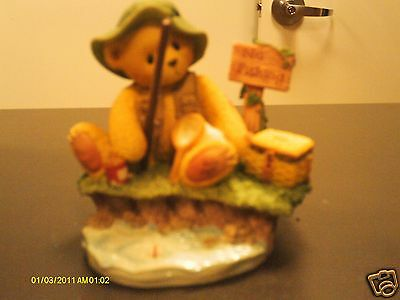 Cherished Teddies ` NORM  Patience is a Fisherman's virtue  1998